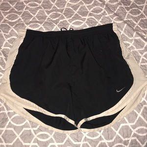 Pants - black nike shorts
